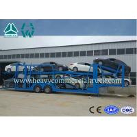 Buy cheap 12 Vehicle Large Capacity Car Transporter Trailer 8 Piece Leaf Spring product