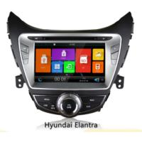 Buy cheap 8 Touch Screen Gps Auto Navigation Systems With Rearview Camera For Hyundai Elantra 2011-2013 from wholesalers