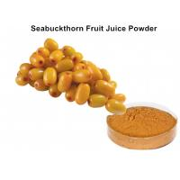 Buy cheap Healthy Seabuckthorn Fruit Juice Powder Good Water Solubility Promoting Wound Healing from wholesalers