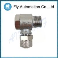 Buy cheap Pneumatic1525 Series Tube CAMOZZI Swivel Male Elbow Sprint  Nickel-plated 6/4-1/8 Brass Fittings product
