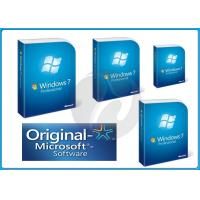 English FPP Original Microsoft Windows 7 Professional Retail Box 32&64 Bit