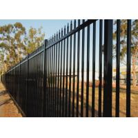 Buy cheap Diplomat Fencing Panels 1800mm x 2350mm Crimped Spear 25mm picket from wholesalers