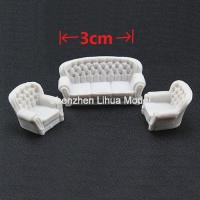 Buy cheap ABS model sofa,miniature scale model sofa,model furniture,model accessories,model materials from wholesalers