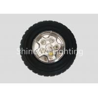 Buy cheap Wheel Design High Intensity Led Flashlight ABS PC Silica With Powerful Magnet from wholesalers