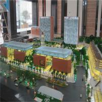 Buy cheap Commercial and Residential 3d Building Miniature Model With Led Light from wholesalers