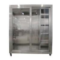 Buy cheap Static 1500*750*1800mm Garment Cubicle Assembly from wholesalers