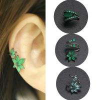 Buy cheap No Piercing Cartilage Ear Jewelry flower shape druzy gemstone Clip On Earrings from wholesalers