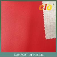 Buy cheap SGS Sofa synthetic leather  with Strong T/C Knitting Backing product