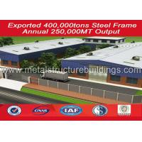 Buy cheap Frame Prefabricated Steel Structure Warehouse Long Span Manufacturing from wholesalers