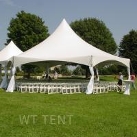 Buy cheap Mixed High Peak Canopy Tent Curtains Decorations Roof Lighting from wholesalers