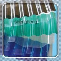Buy cheap polycarbonate corrugated roofing sheet/skylight pc transparent roof sheet for greenhouse from wholesalers