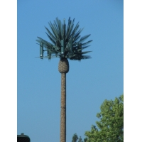 Buy cheap Single pole GSM Camouflaged Pine Tree Cell Tower from wholesalers