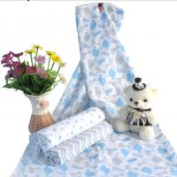 Buy cheap Soft Textile Baby Swaddle Wrap Organic Baby Blanket Muslin Cotton Lightweight Baby Diaper from wholesalers