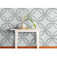 Quality Biodegradable Plant Fiber White Home Decor Wallpapers Graffitic 3D Wall Panels for sale