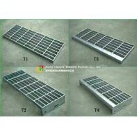 Buy cheap 30 X 3 Steel Stair Treads Grating Material Saving Easy Lifting Good Ventilation product