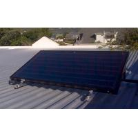 Buy cheap Flat Panel​ Blue Titanium Absorber Solar Water Heater , Split Flat Plate Solar Collector from wholesalers