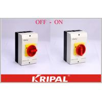 Buy cheap OEM/ODM acceptable Rotary Isolator Switch Disconnect Switch OFF-ON 4P 40A Semko Good appearance from wholesalers