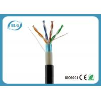 Buy cheap Dual Jacket Cat5e Outdoor Waterproof Ethernet Cable Weatherproof Full Copper Conductor from wholesalers