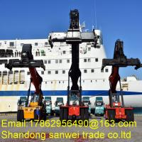 Buy cheap 53 Inch Container Handling Forklift / Shipping Container Forklift Cummins USA Engine product