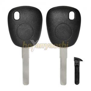 Buy cheap Black Silver Saab Car Key Replacement , Hard Mobile Car Key Programming product