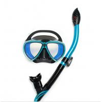 Buy cheap Snorkel Mask Kids Set with Anti Fog / Anti Splash Guard and Camera Mount for GoPro from wholesalers