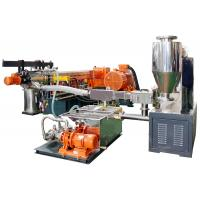 Buy cheap China high quality fluorine plastics electric cable masterbatch compounding making machine from wholesalers