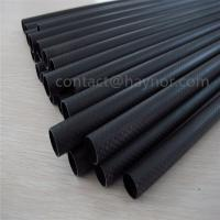 Buy cheap Matte Black 3k carbon fiber tube and Rod from wholesalers