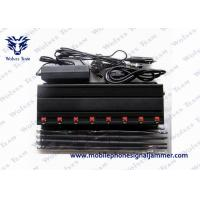 Buy cheap Multifunctional 3G 4G Cell Phone Jammer , Wifi Signal Jammer High Gain Antennas product