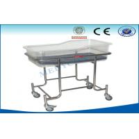 China Stainless Steel Pediatric Hospital Beds With Grp Top Bed Base on sale