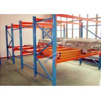 Galvanized Pallet Racking Weight Capacity 1200Kg Custom Storage Shelving