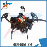Buy cheap 20DOF Hexapod Robot Claw Machine Kit , Diy Robot Kit , Full Steering Bracket Accessories Black from wholesalers