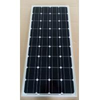Buy cheap Black / Deep Blue Mono Cell Solar Panel 80W 21.6V Circuit Voltage Low - Iron Glass product