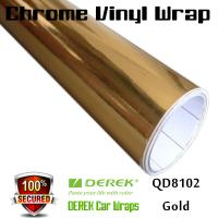 Buy cheap Chrome Mirror Car Wrapping Vinyl Film 3 layers - Chrome Gold from wholesalers
