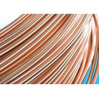 Buy cheap Easy To Bend Refrigeration Copper Tube 4.76 * 0.5mm , 25% Elongation from wholesalers