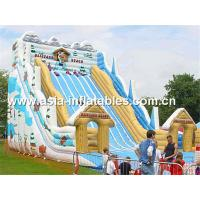 Buy cheap Hot Summer Water Games, Giant Inflatable Slide In Winter Snow Style from wholesalers