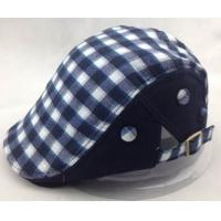 Buy cheap Cool Plaid Kangol Hats Felt and cotton fabric Cabbie Cap For adult from wholesalers