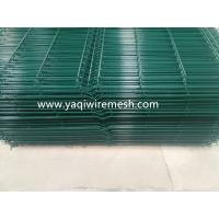 Buy cheap 5 mm PVC Galvanized Wire Mesh Fence Security With  2.0m Height 2.5m Width from wholesalers