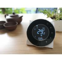 Buy cheap Black Round Smart Thermostat For Fan Coil Units With 0 - 10V Modulating from wholesalers