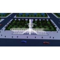 Buy cheap Construction Decorative Floor Dry Deck Fountain Music Dancing Water Fountain With LED Light from wholesalers