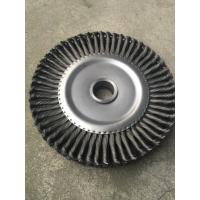 Buy cheap High quality twisted knot  steel wire wheel brush fwire brushes,steel files,waterproof sandpaper rolls, felt wheel and f from wholesalers