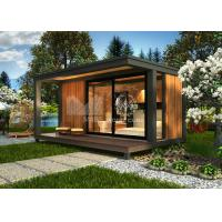 Buy cheap Single Bedroom Prefabricated Beach House , Small Contemporary Modular Homes from wholesalers