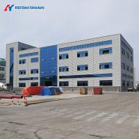 Buy cheap Prefabricated Structural Light Steel Building with ISO Certificate from wholesalers