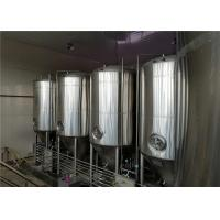 Buy cheap 20BBL Stainless Steel Conical Fermentation Tank With PLC Control System from wholesalers