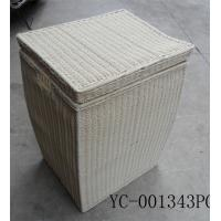 Buy cheap storage wicker baskets from wholesalers