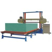 Buy cheap Horizontal Polyurethane / PU Foam Cutting Machine For Sponge Block 8.12KW from wholesalers