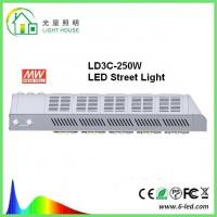 Buy cheap Meanwell Driver Solar Powered Led Street Lights / Led Road Lamp 250w 130 Lm / W product