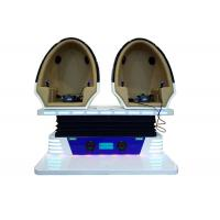 Buy cheap Egg Chair Design 9D Egg VR Cinema 1 / 2 / 3 Seats With 360 Degree VR Glass from wholesalers