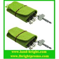 Buy cheap promotional felt keychain bag/keychain holder from wholesalers