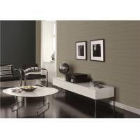 Buy cheap Non Pasted Faux Grasscloth Wallpaper / TV Background Wet Embossing Wallpaper product