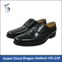 Buy cheap Classic dress security work shoes / autumn black security shoes Removable insole from wholesalers